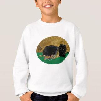 Gato da estrela com miçanga camisetas