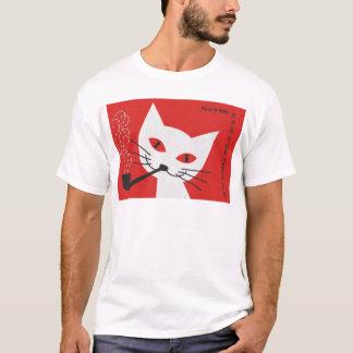 Gato da tubulação t-shirt