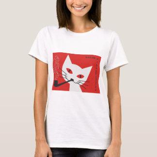 Gato da tubulação tshirt