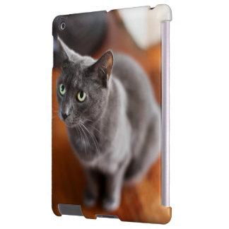 Gato das cinzas do caso de IPad Capa Para iPad