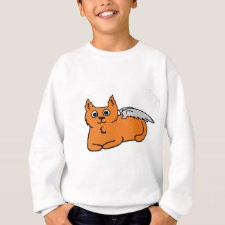Gato do anjo camiseta