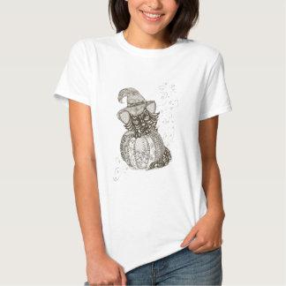 Gato do Dia das Bruxas Camiseta