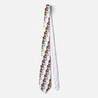 Gato do espaço gravata