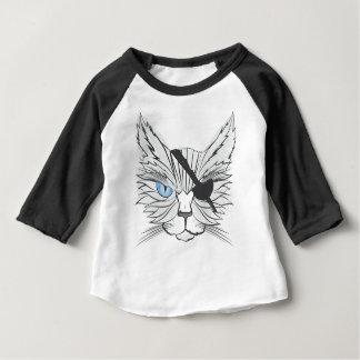 Gato do pirata do desenho t-shirts