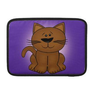 Gato dos desenhos animados bolsa de MacBook air