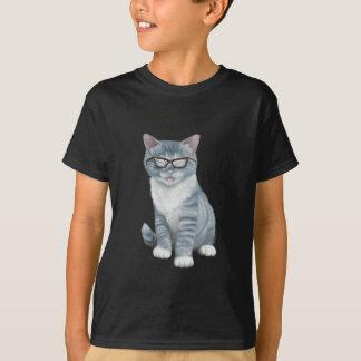 Gato engraçado camiseta