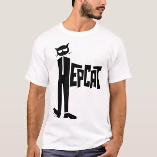Gato ereto camisetas