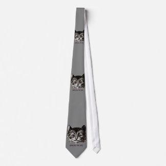 Gato louco gravata