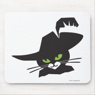 Gato preto mousepad