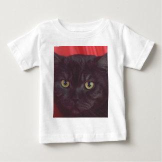 Gato preto - VERMELHO T-shirts