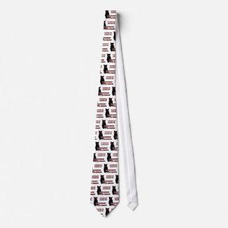 Gato sinistro gravata