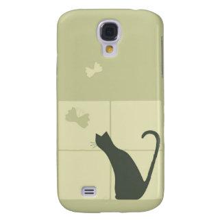 Gato sonhador galaxy s4 cases