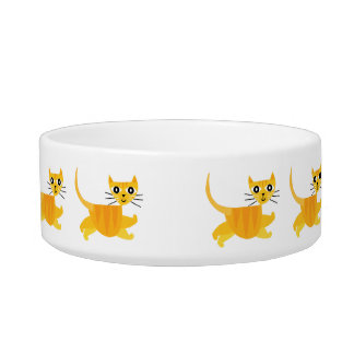 Gatos de salto! tijela para comida de gatos