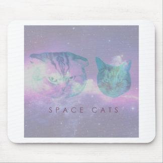 Gatos do espaço mouse pad