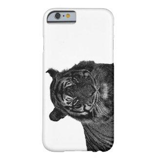 Gatos grandes da espécie em vias de extinção capa barely there para iPhone 6
