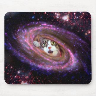 Gatos LOL Mousepad do espaço da galáxia