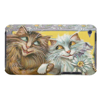 Gatos no amor - capa do ipod touch do vintage