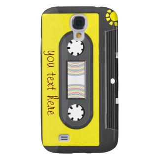 gaveta amarela com fita do arco-íris galaxy s4 cases