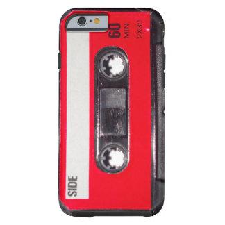 gaveta vermelha da etiqueta do anos 80 capa tough para iPhone 6