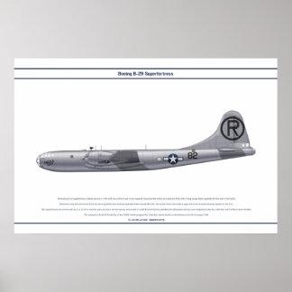 Gay de B-29 EUA Enola Poster
