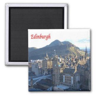 GB - Scotland - Edimburgo Ímã Quadrado