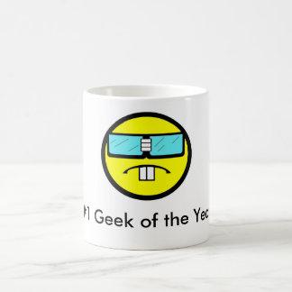 Geek #1 do ano número um caneca
