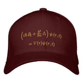 Geek: Boné, equação de Schrodinger, sisal Boné Bordado
