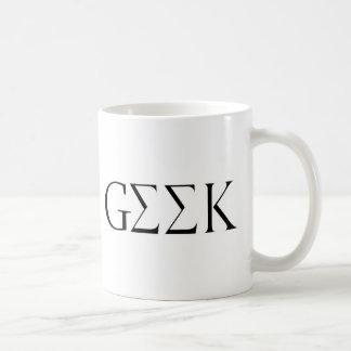 GEEK CANECA DE CAFÉ