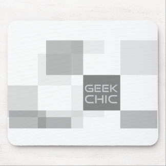 Geek chic office mouse pad