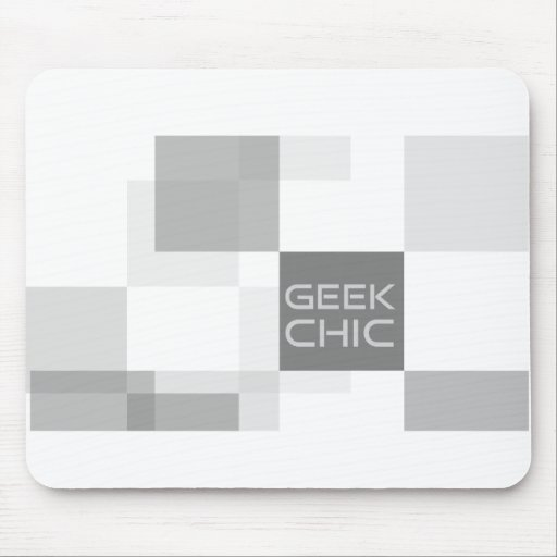 Geek chic office mousepad
