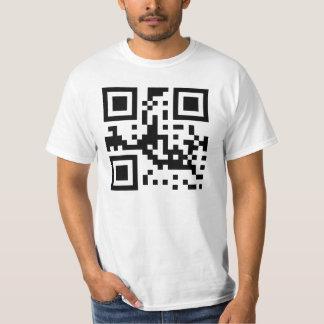 GEEK - código de QR T-shirts