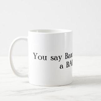 Geek da banda/caneca má da coisa caneca de café