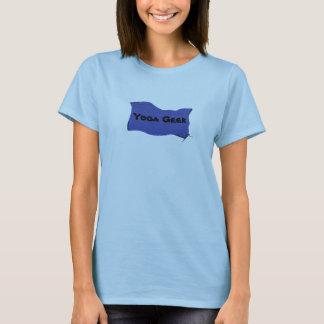 Geek da ioga camiseta