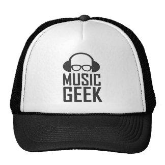 Geek da música boné