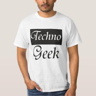 Geek de Techno Camiseta