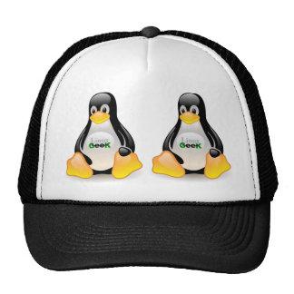 Geek de Tux Linux Boné
