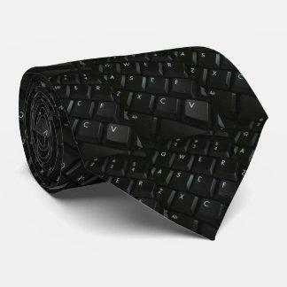 Geek do Preto-Teclado Gravata