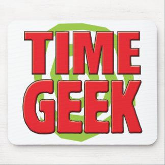Geek do tempo mousepad