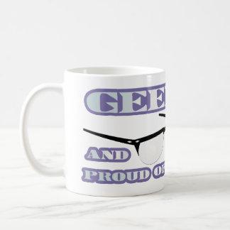 Geek e orgulhoso dele! caneca