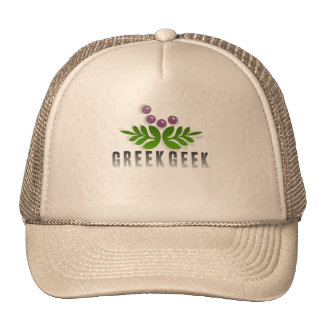 Geek grego boné
