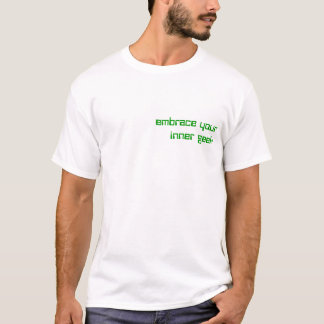 geek interno t-shirt