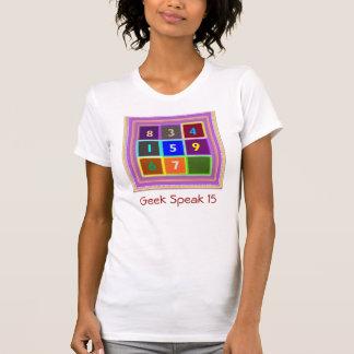GEEK Jogos de questionário para miúdos T-shirt