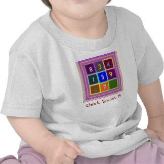 GEEK Jogos de questionário para miúdos Tshirt