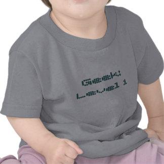 Geek: Nível 1 Tshirts