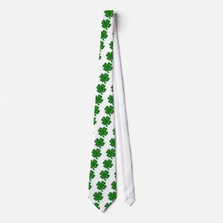 Geek orgulhoso ser amor irlandês do trevo gravata