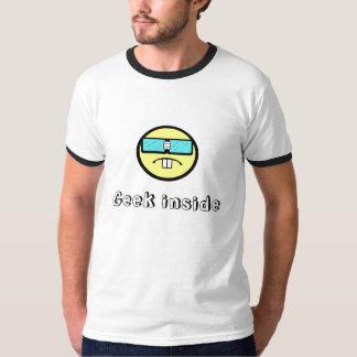 Geek para dentro tshirts