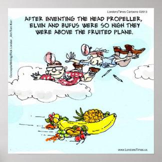 Geeks & o engraçado plano frutificado poster
