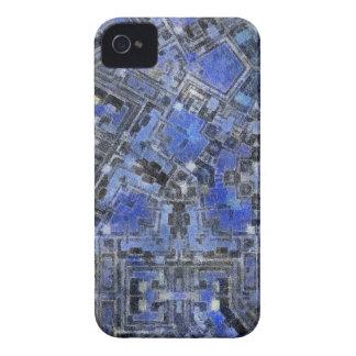 Gelo azul capas de iPhone 4 Case-Mate