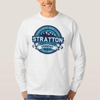 Gelo do logotipo de Stratton T-shirt