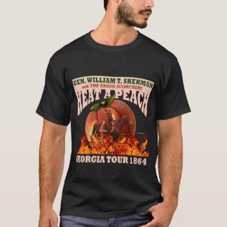"""Gen Sherman """"calor camisa 1864 da excursão de um T-shirt"""